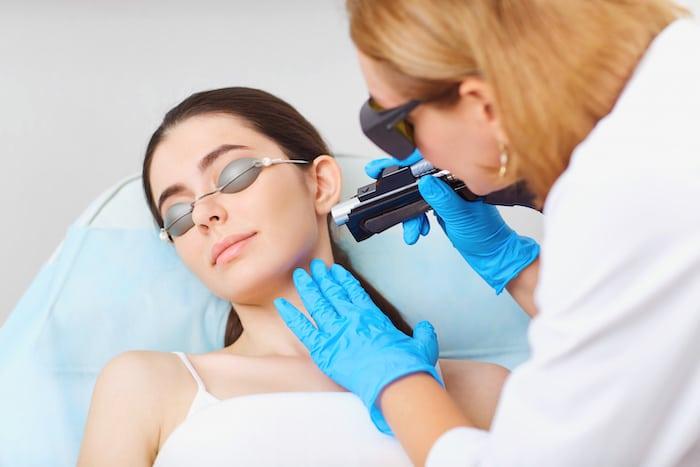 depilacion laser alejandrita facial